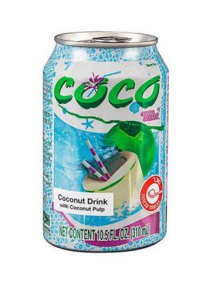 """מיץ קוקוס עם שבבים - קוקו 310 מ""""ל"""