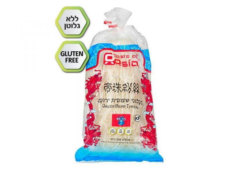 מקלוני שעועית סיניים ללא גלוטן 250 גרם