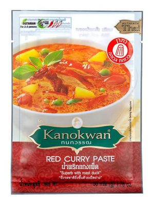 Kanokwan Red Curry Paste 50 g