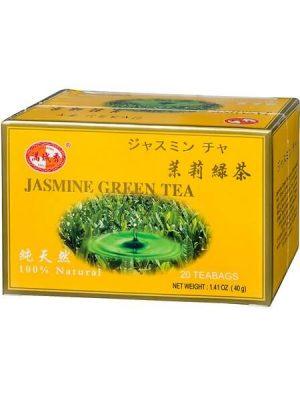 תה ירוק עם יסמין בשקיקים 40 גרם