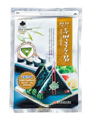 אצות נורי לסושי אוניגירי 20 דפים