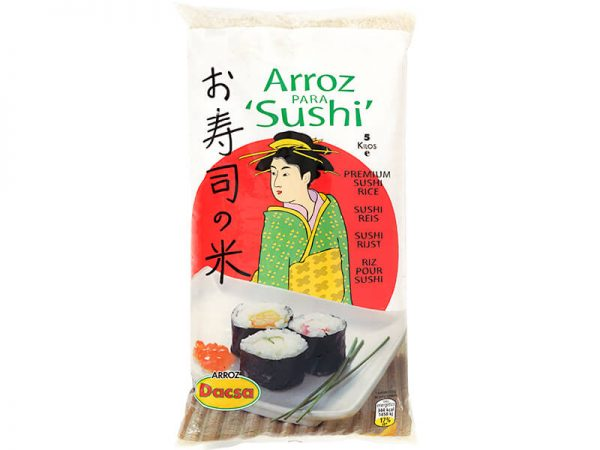 """אורז מקצועי לסושי 5 ק""""ג"""