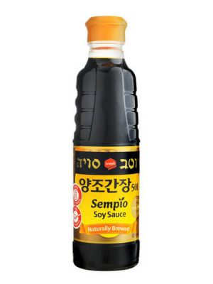 Sempio 501S Soy Sauce without presertative 500 ml