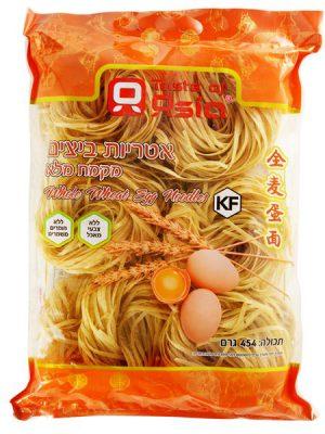 אטריות ביצים מקמח מלא 454 גרם
